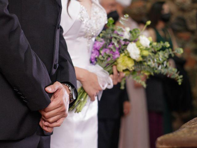 La boda de Oscar y Iris en Huasca de Ocampo, Hidalgo 26