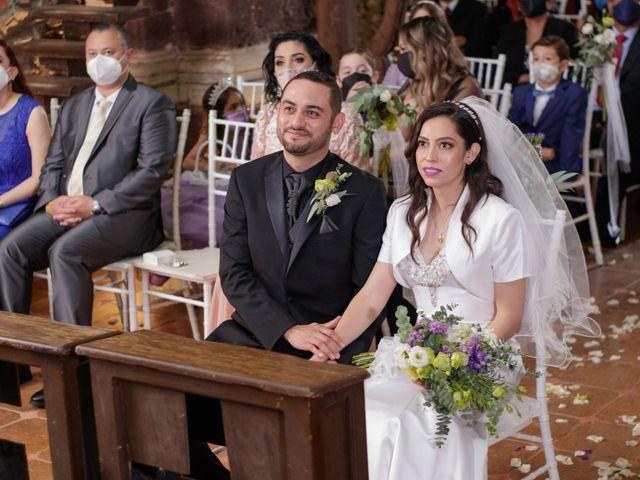 La boda de Oscar y Iris en Huasca de Ocampo, Hidalgo 28