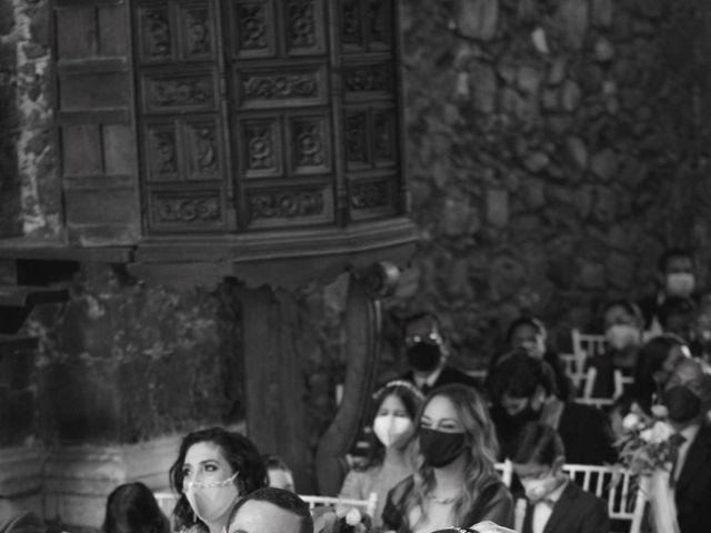 La boda de Oscar y Iris en Huasca de Ocampo, Hidalgo 29