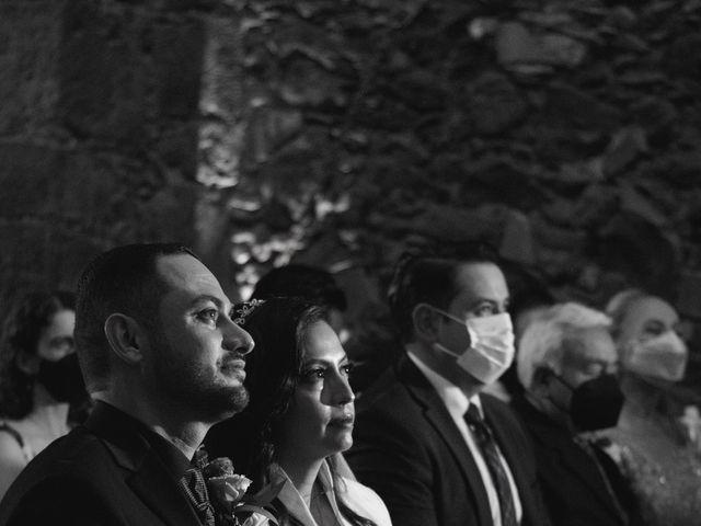 La boda de Oscar y Iris en Huasca de Ocampo, Hidalgo 31