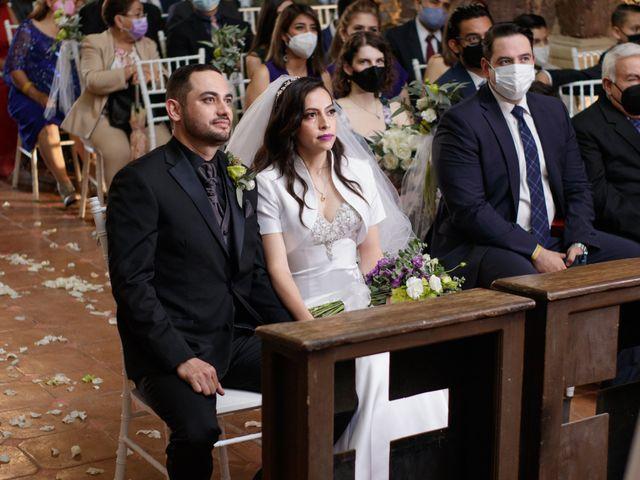 La boda de Oscar y Iris en Huasca de Ocampo, Hidalgo 32