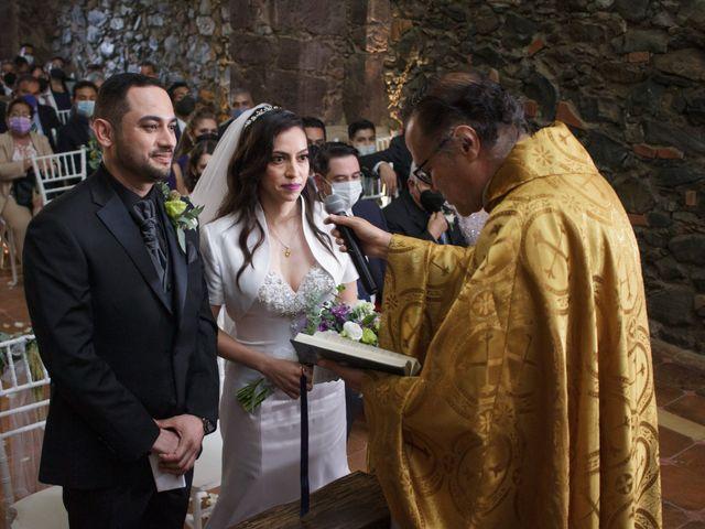 La boda de Oscar y Iris en Huasca de Ocampo, Hidalgo 34