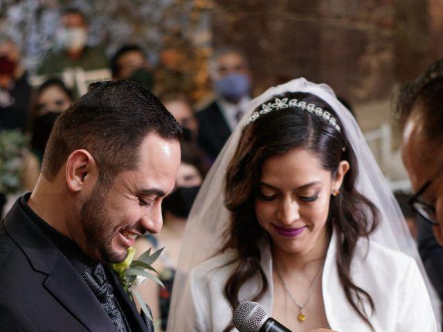 La boda de Oscar y Iris en Huasca de Ocampo, Hidalgo 35