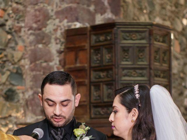 La boda de Oscar y Iris en Huasca de Ocampo, Hidalgo 36