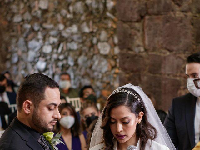 La boda de Oscar y Iris en Huasca de Ocampo, Hidalgo 37