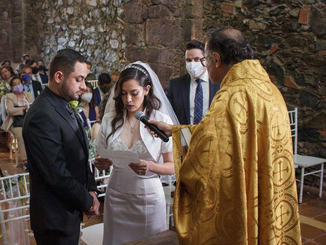 La boda de Oscar y Iris en Huasca de Ocampo, Hidalgo 38