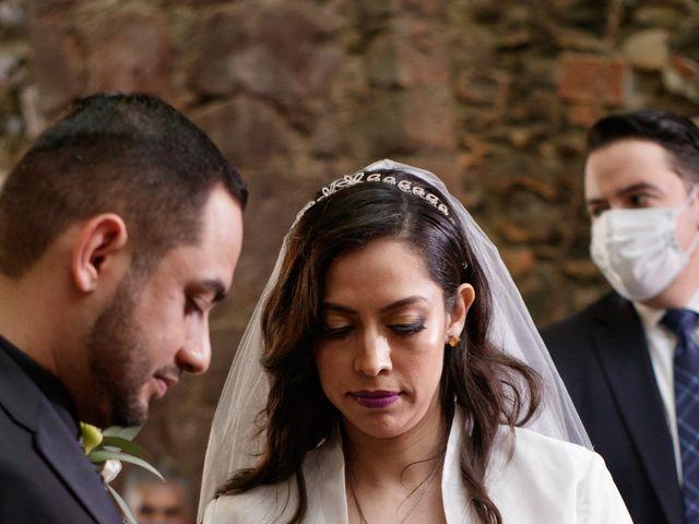 La boda de Oscar y Iris en Huasca de Ocampo, Hidalgo 42