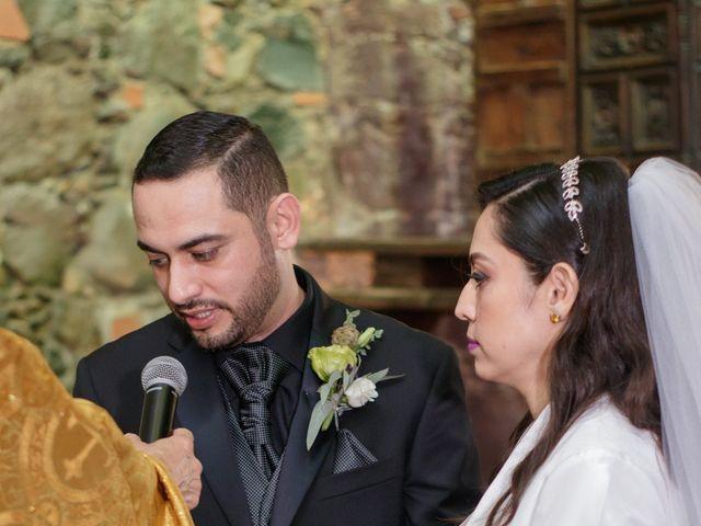 La boda de Oscar y Iris en Huasca de Ocampo, Hidalgo 43