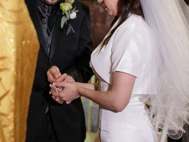 La boda de Oscar y Iris en Huasca de Ocampo, Hidalgo 44