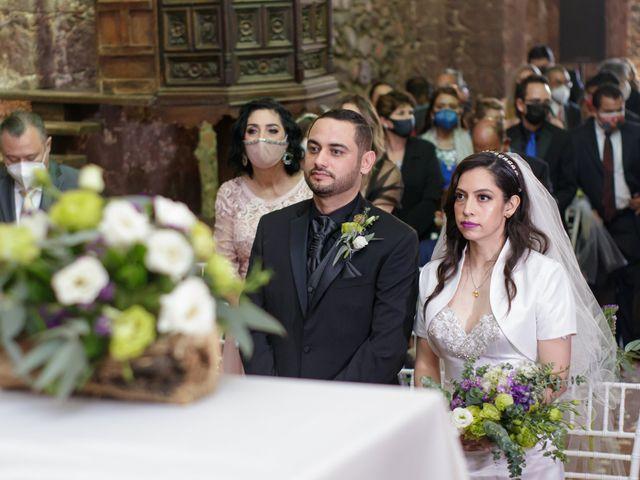 La boda de Oscar y Iris en Huasca de Ocampo, Hidalgo 45