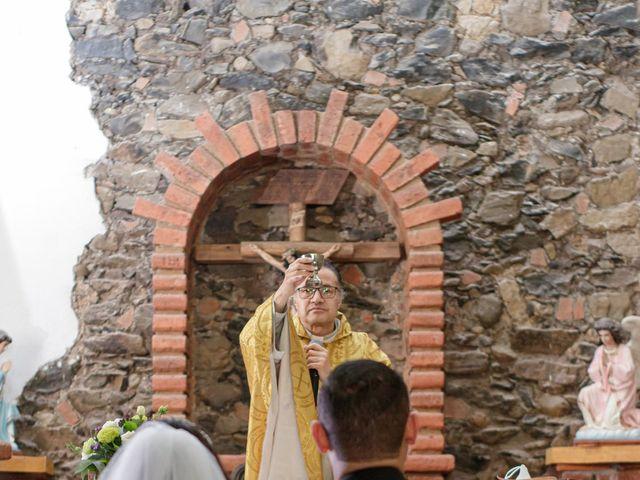 La boda de Oscar y Iris en Huasca de Ocampo, Hidalgo 47