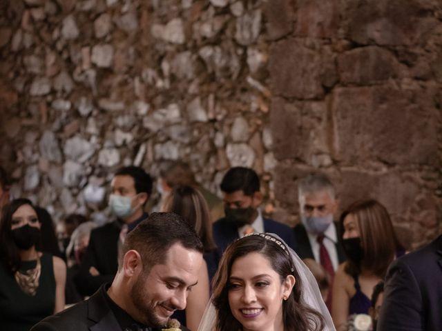 La boda de Oscar y Iris en Huasca de Ocampo, Hidalgo 49