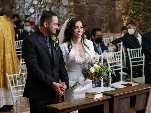 La boda de Oscar y Iris en Huasca de Ocampo, Hidalgo 51
