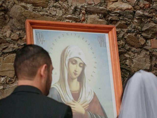 La boda de Oscar y Iris en Huasca de Ocampo, Hidalgo 52
