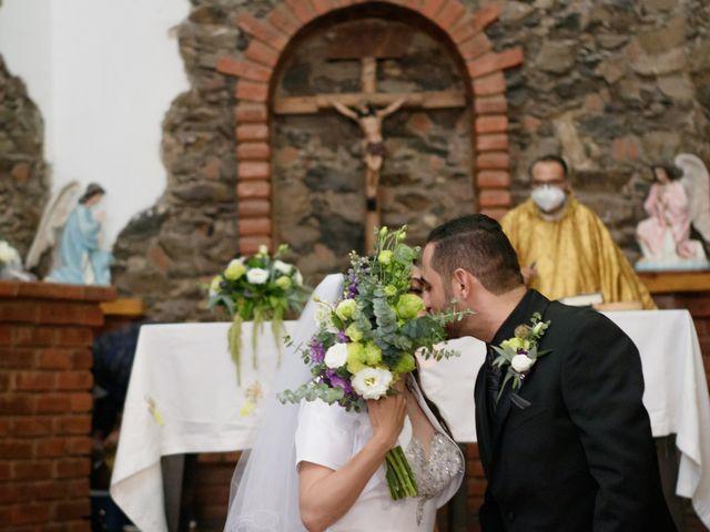 La boda de Oscar y Iris en Huasca de Ocampo, Hidalgo 53