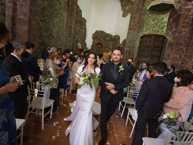 La boda de Oscar y Iris en Huasca de Ocampo, Hidalgo 54
