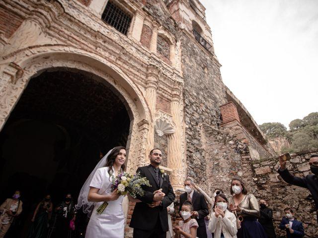La boda de Oscar y Iris en Huasca de Ocampo, Hidalgo 55