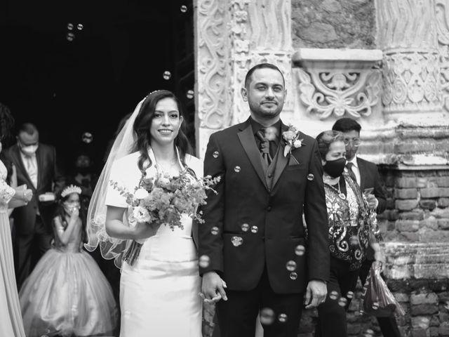 La boda de Oscar y Iris en Huasca de Ocampo, Hidalgo 56