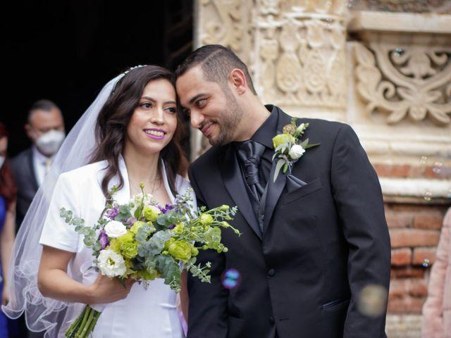 La boda de Oscar y Iris en Huasca de Ocampo, Hidalgo 57