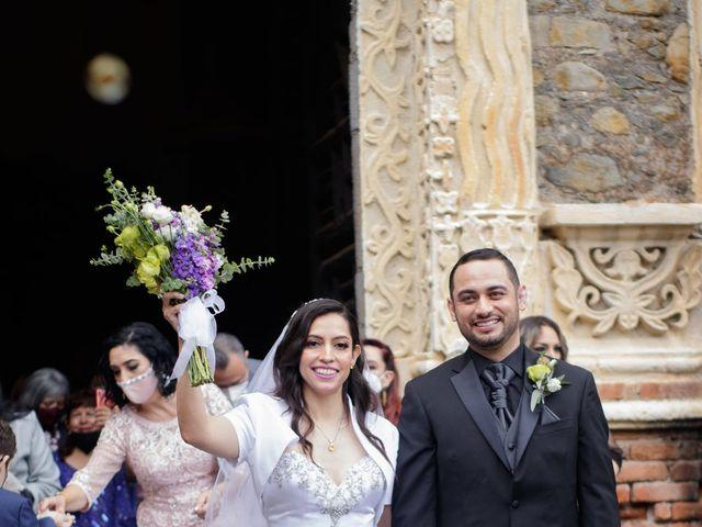 La boda de Oscar y Iris en Huasca de Ocampo, Hidalgo 58
