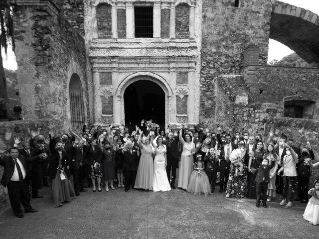 La boda de Oscar y Iris en Huasca de Ocampo, Hidalgo 59