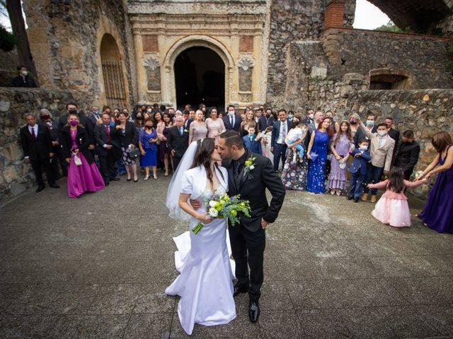 La boda de Oscar y Iris en Huasca de Ocampo, Hidalgo 60