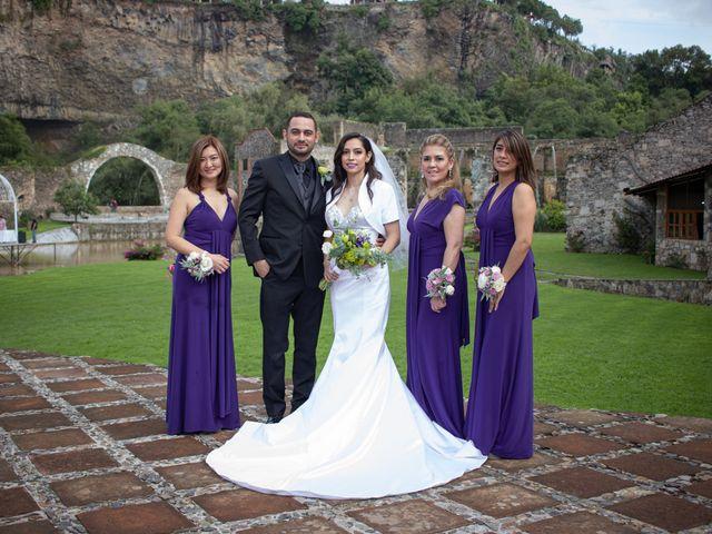 La boda de Oscar y Iris en Huasca de Ocampo, Hidalgo 61