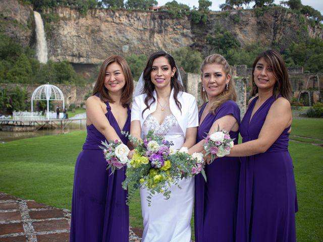 La boda de Oscar y Iris en Huasca de Ocampo, Hidalgo 62
