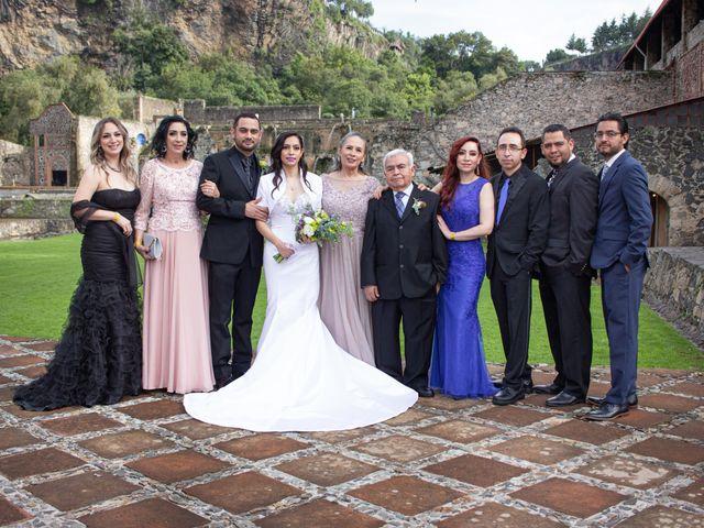 La boda de Oscar y Iris en Huasca de Ocampo, Hidalgo 65