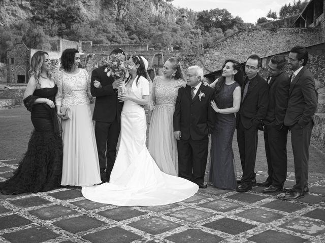 La boda de Oscar y Iris en Huasca de Ocampo, Hidalgo 67