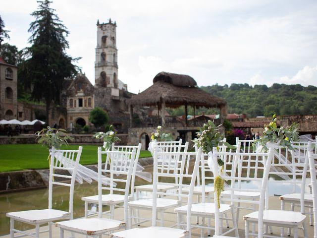 La boda de Oscar y Iris en Huasca de Ocampo, Hidalgo 70