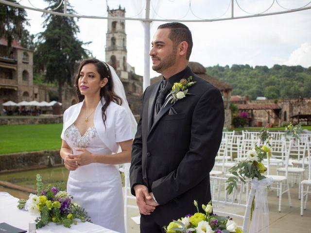 La boda de Oscar y Iris en Huasca de Ocampo, Hidalgo 73