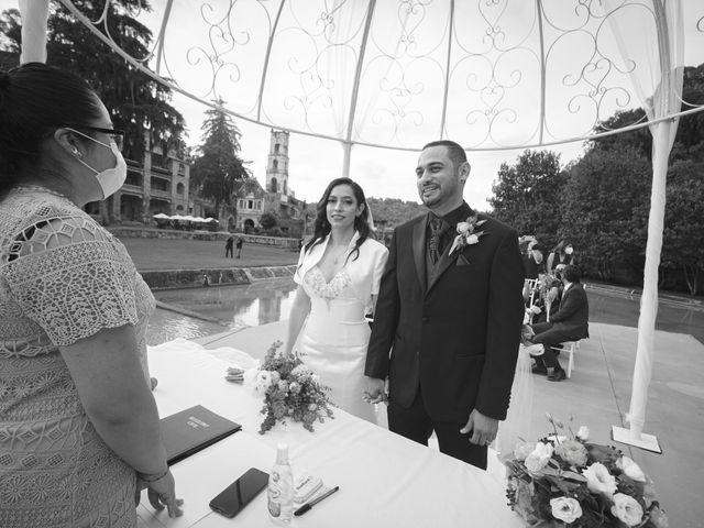 La boda de Oscar y Iris en Huasca de Ocampo, Hidalgo 74