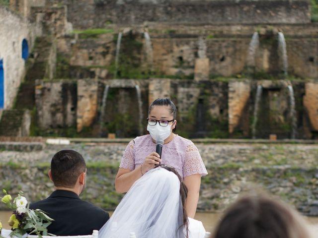 La boda de Oscar y Iris en Huasca de Ocampo, Hidalgo 75