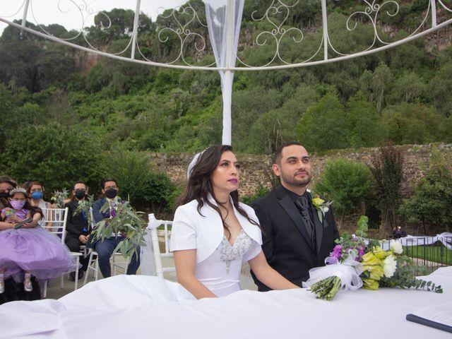 La boda de Oscar y Iris en Huasca de Ocampo, Hidalgo 76