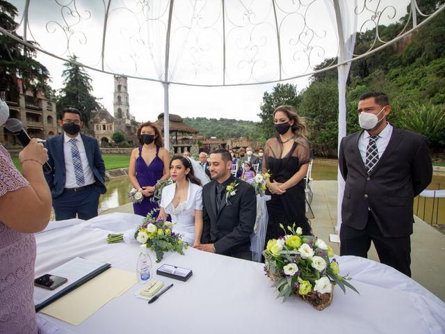 La boda de Oscar y Iris en Huasca de Ocampo, Hidalgo 77