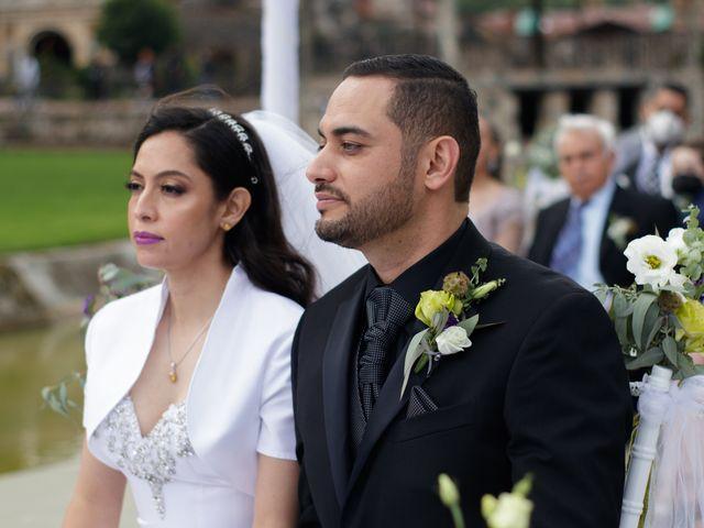 La boda de Oscar y Iris en Huasca de Ocampo, Hidalgo 78