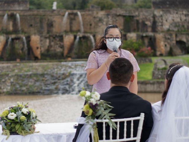 La boda de Oscar y Iris en Huasca de Ocampo, Hidalgo 80