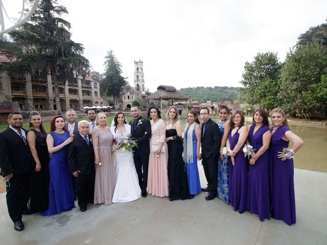 La boda de Oscar y Iris en Huasca de Ocampo, Hidalgo 90