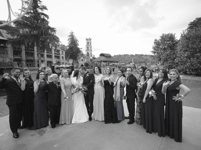 La boda de Oscar y Iris en Huasca de Ocampo, Hidalgo 91