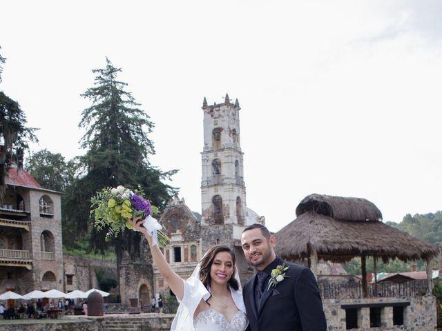 La boda de Oscar y Iris en Huasca de Ocampo, Hidalgo 92