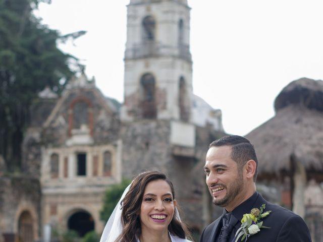La boda de Oscar y Iris en Huasca de Ocampo, Hidalgo 93
