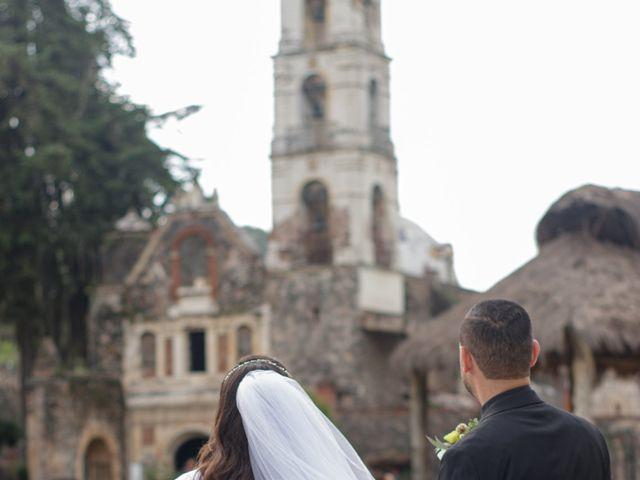 La boda de Oscar y Iris en Huasca de Ocampo, Hidalgo 97