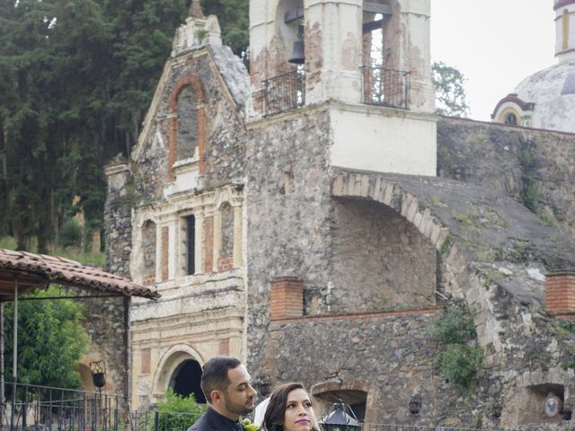 La boda de Oscar y Iris en Huasca de Ocampo, Hidalgo 103