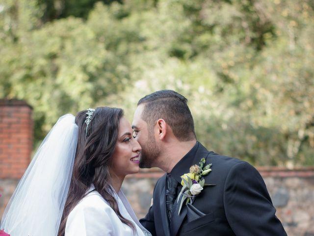 La boda de Oscar y Iris en Huasca de Ocampo, Hidalgo 107