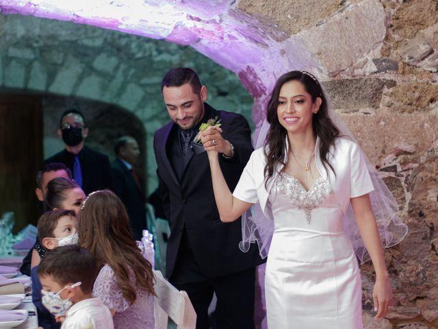 La boda de Oscar y Iris en Huasca de Ocampo, Hidalgo 116