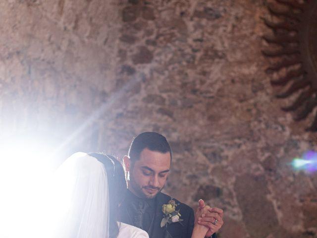 La boda de Oscar y Iris en Huasca de Ocampo, Hidalgo 121