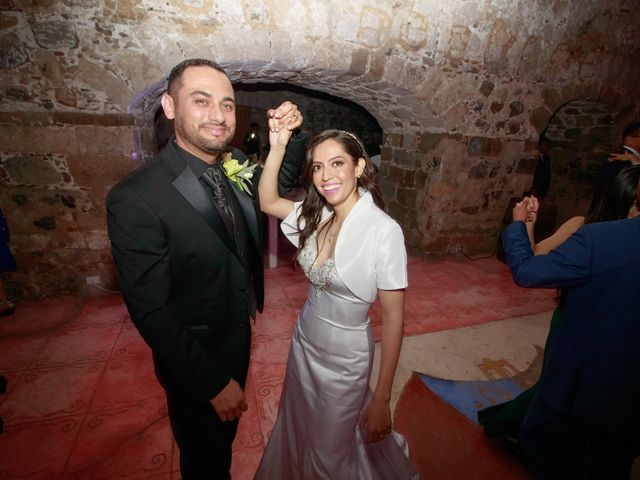La boda de Oscar y Iris en Huasca de Ocampo, Hidalgo 123