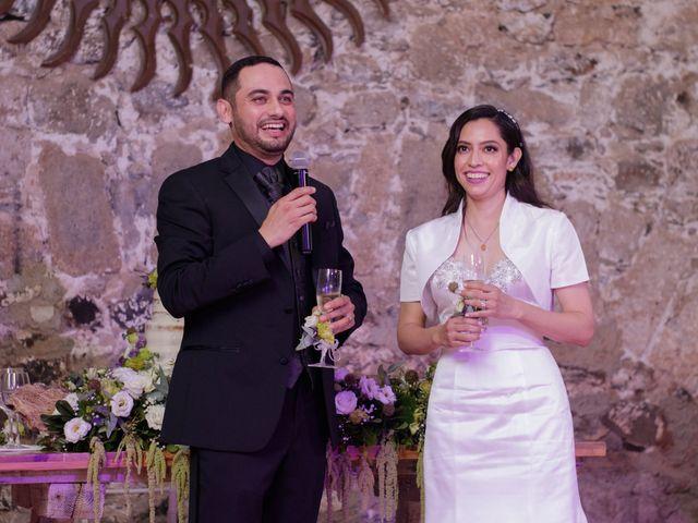La boda de Oscar y Iris en Huasca de Ocampo, Hidalgo 127