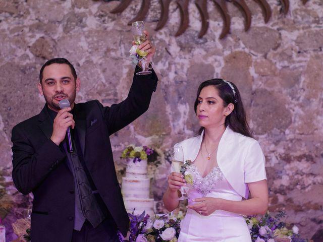 La boda de Oscar y Iris en Huasca de Ocampo, Hidalgo 129
